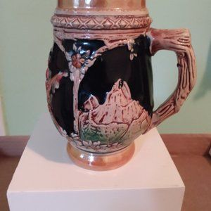 Small beer stein made in Germany.